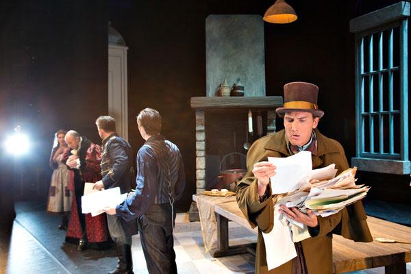 Rossini La Cenerentola role: Alidoro; Opera Zuid, 2015 © Morten de Boer