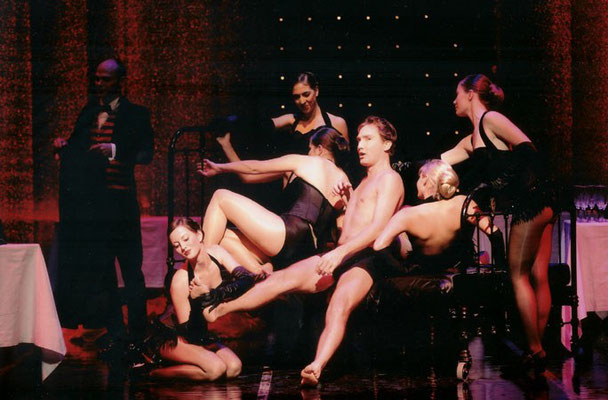 Die Lustige Witwe Léhar role: Danilo; Opera Zuid, 2006 © Deen van Meer