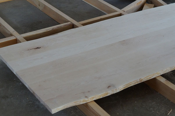 Massivholz Tischplatte
