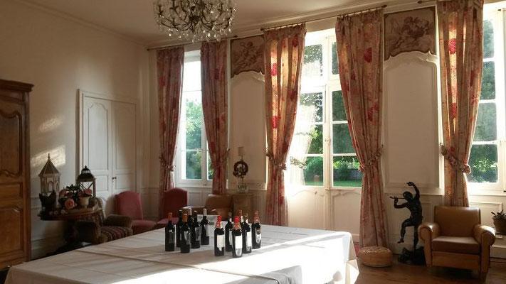 Salon du Château La Hitte en Albret