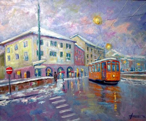 Viale Gorizia - dipinto