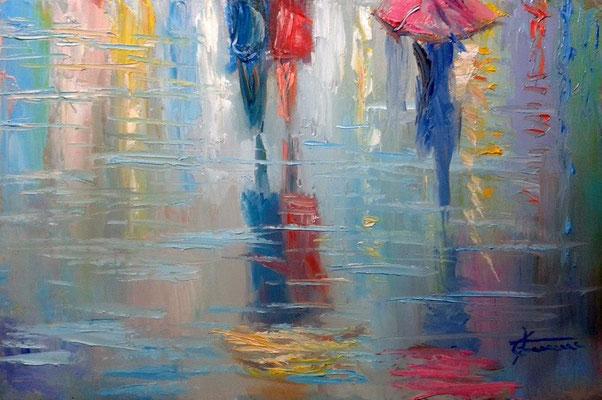 Milano pioggia