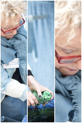 Annette Hardouin, Ennoblisseur et créatrice textile