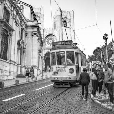 Lisbonne, en attendant le tramway...