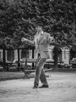 Le danseur de la Place des Vosges (Paris 2014)