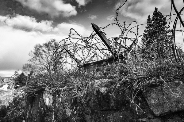 Mémorial de Linge (tranchées Guerre de 14-18)