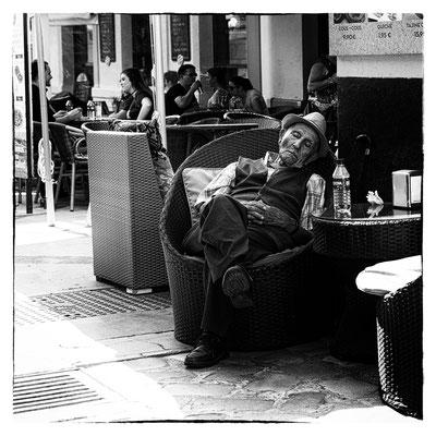 Malaga... l'heure de la sieste