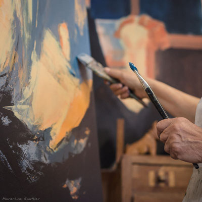 Carré 20x20 Françoise Maestripieri Artiste peintre