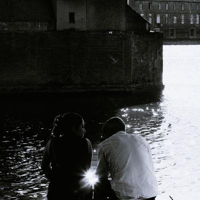 Toulouse, les quais, la Garonne