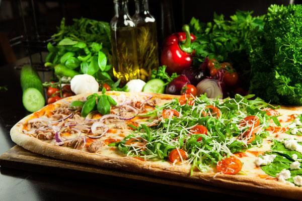 Ganze Olatte Pizza