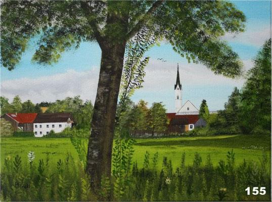 Nr.155 Schwindkirchen. Format 30x40cm