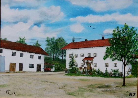 Nr.57 Bauernhof in Schiltern. Format 30x40cm
