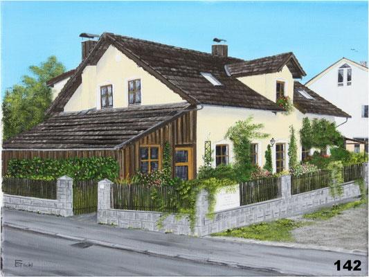 Nr.142 Anwesen Bruckloher in Wasentegernbach. Format 30x40cm
