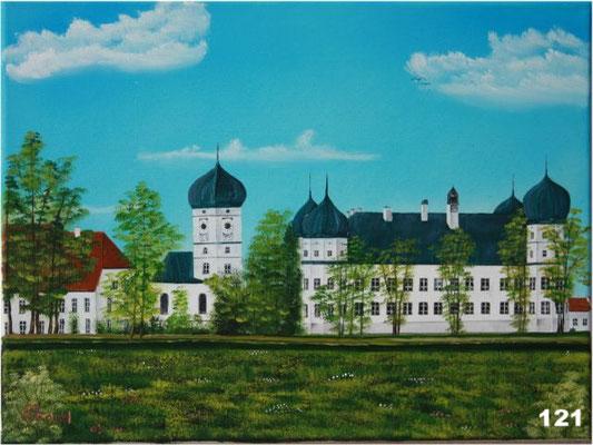 Nr.121 Schloss Schwindegg. Format 30x40cm