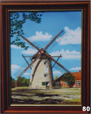 Nr.80 Ostmühle in Gildehaus bei Bad Bentheim. Format 30x40cm