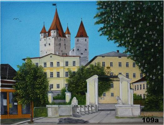 Nr.109a Haager Burg mit Institut. Format 30x40cm