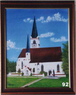 Nr.92 Pfarrkirche in St. Wolfgang. Format 40x50cm