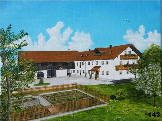 Nr.143 Bauernhof in Zettl. Format 30x40cm