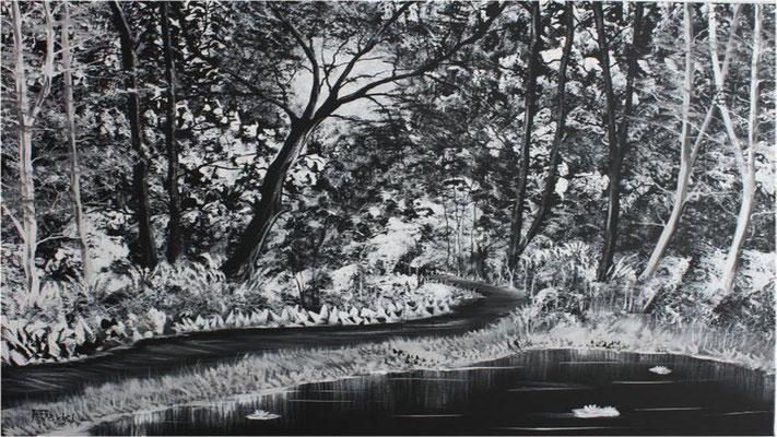 Nr.4f Schwarzer Wald. Format 80x100