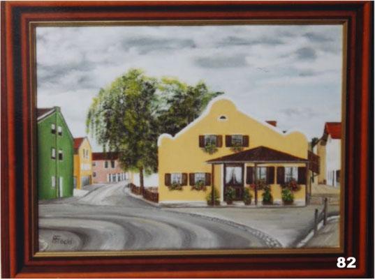 Nr.82 Ehem. Folger Schmiede in Dorfen Haagerstr. Format 30x40cm