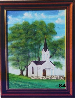 Nr.84 Andre-Bauern-Kapelle bei Oberschiltern. Format 30x40cm