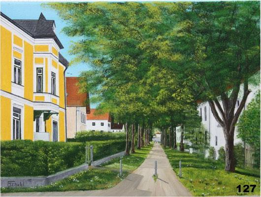 Nr.127 Dorfen, Lehrer Zöpf Villa am Bahnweg. Format 30x40cm