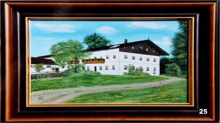 Nr.25 Elternhaus von Hans Zinn. Format 30x40cm