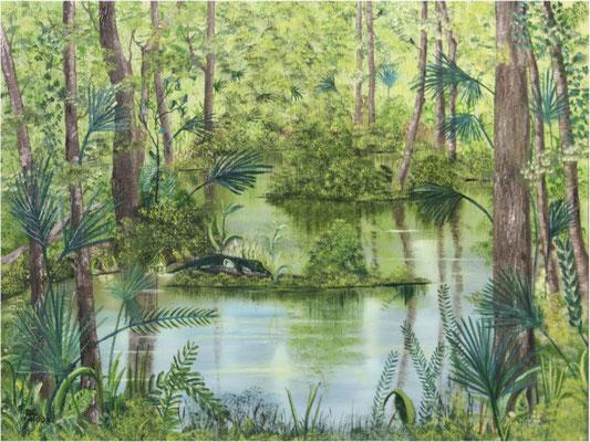 Nr.148 Everglades. Format 40x60 Breitkeilrahmen