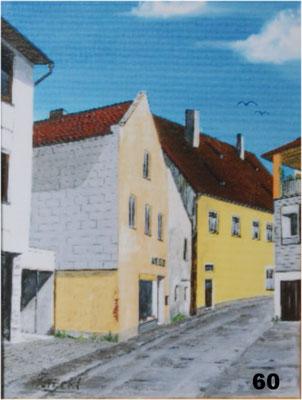 Nr.60 Dorfen Herzoggraben bei Reiner. Format 30x40cm