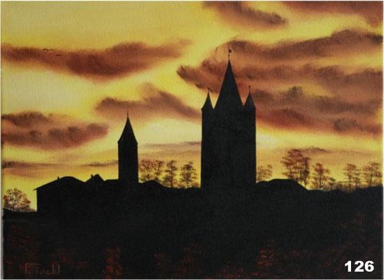 Nr.126 Haag im Morgenlicht. Format 3040cm