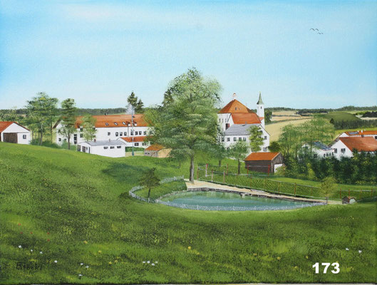 Nr.173 Kloster Moosen. Format 30x40cm