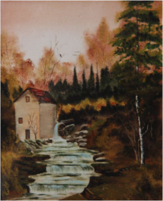 Nr.44 Alte Mühle. Format 40x50cm