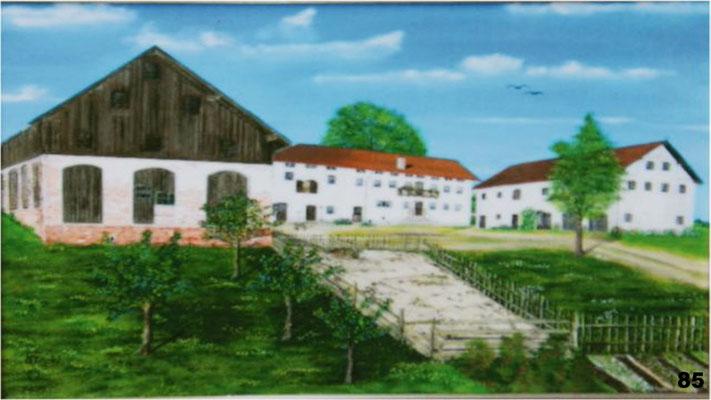 Nr.85 Binderhof in Irrthal bei Felizenzell. Format 40x60cm