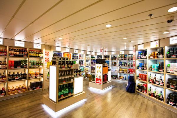 Fähre_Schiff_Duty free Shop_DFDS_Amsterdam_Newcastle