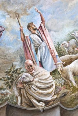Detalle de los pastores del Antiguo Testamento