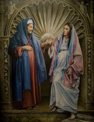 La Visitación de la Virgen a su prima Santa Isabel