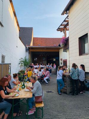 Kino im Weingut. Kulinarisch.