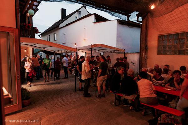 Hofschoppenfest • Schäfers Weingut, Untererthal