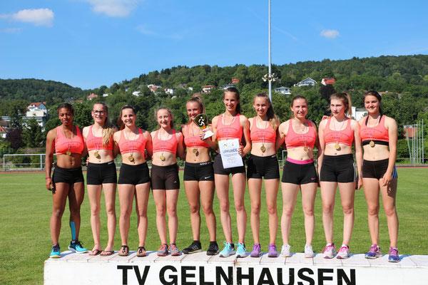 Laury Carilus, Lilly Müller, Zoe Böttcher, Lea Willenweber, Laura Ivisic, Merle Hinz, Elena Pflüger, Lena Bettenhausen, Lovina Löber, Kerstin Beuermann
