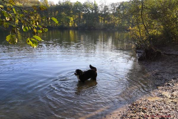 Der See war ganz allein seiner ;-)