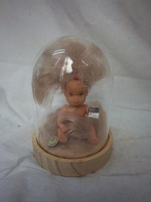 Bébé coiffeur assemblage sur poupée 50€