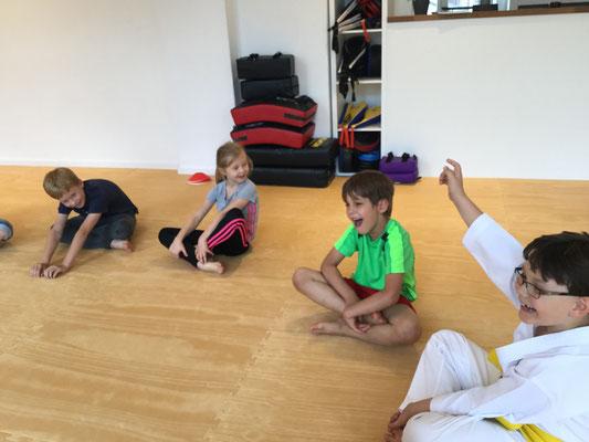 """""""Kleine Drachen"""" - Kampfkunst-Unterricht für Kinder im Vorschulalter"""
