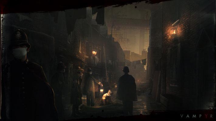Vampyrseradisponiblecourant 2017 sur Xbox One, PS4et PC.