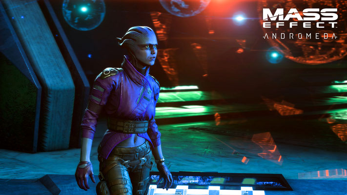Mass Effect : Andromeda sera disponible le 23 mars 2017 sur PC, Xbox One et PS4.