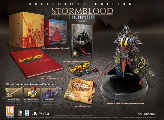 FINAL FANTASY XIV: Stormblood est prévupourle20juin 2017 surPC, Macet PS4.