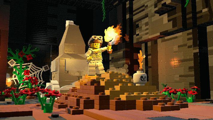 LEGO Worlds estdisponible sur PC, Xbox One etPS4.