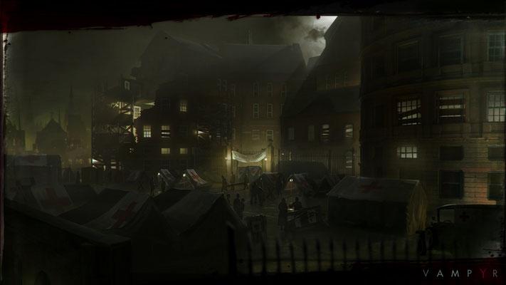 Vampyr sera disponible le 05 juin 2018 sur Xbox One, PS4 et PC.