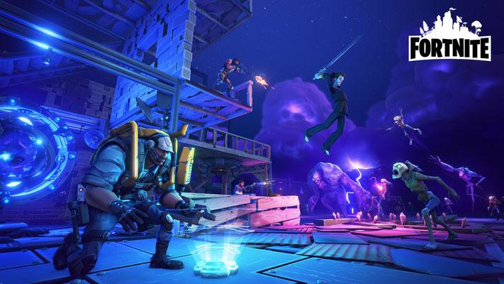 Fornite est prévupour le 25 juillet 2017 surPC, Xbox One, PS4 et Mac.