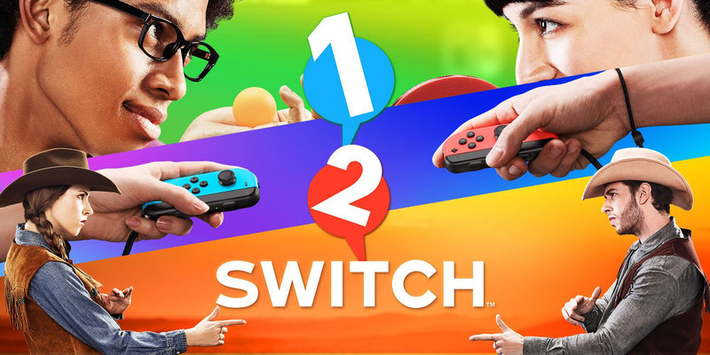1-2 Switch est disponible sur Switch.