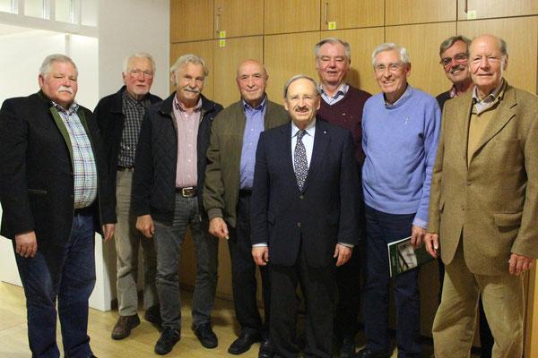 IVG Jahreshauptversammlung 2016 - Die Ehrenmitglieder